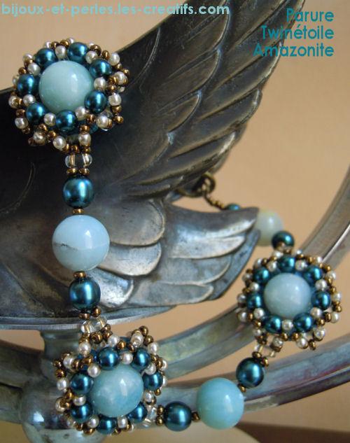 Bracelet en twin bead