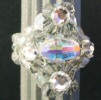 Swarovski R strass bead ring