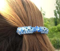 barrette longue en perles - modèle à venir