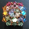 crystal bead ring pattern