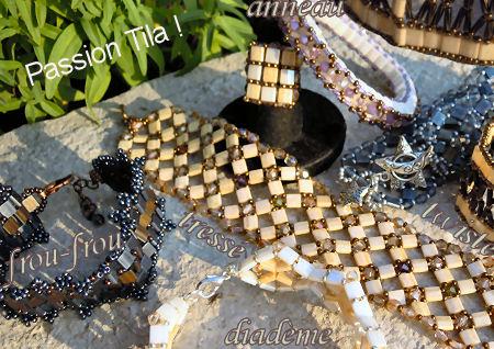 Bracelet en Tila