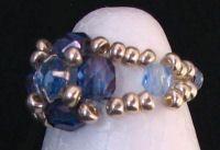 Bague en kit Lolita Strass bleu