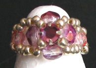 Bague en kit Lolita Strass rose