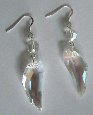 Boucles d'oreilles Pegasus Swarovski