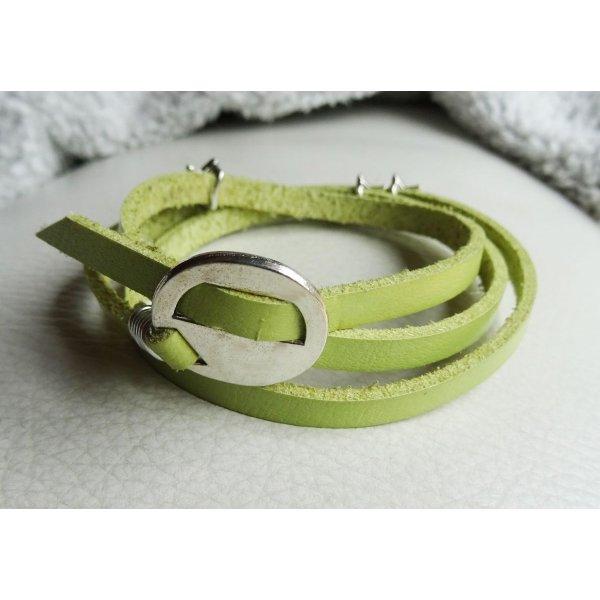 Bracelet cuir Anis 3 tours Etoiles