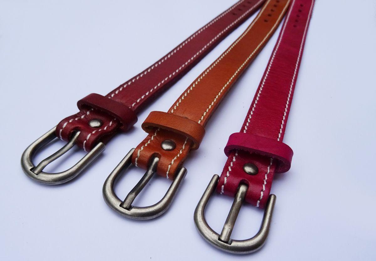 Bracelet en cuir Camel couture à personnaliser