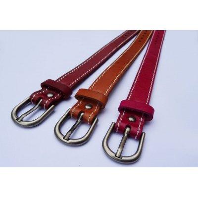 Bracelet en cuir Rubis couture à personnaliser