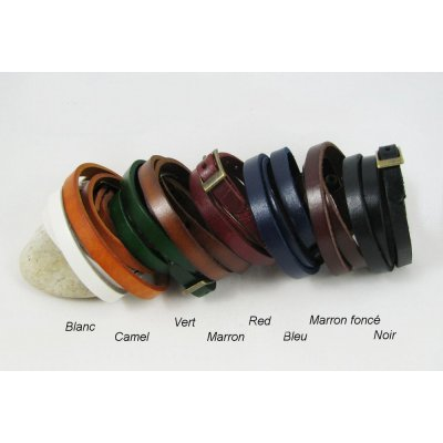 Bracelet cuir gravé à personnaliser