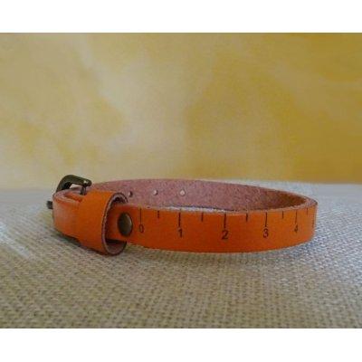 Bracelet cuir Mètre de couturière