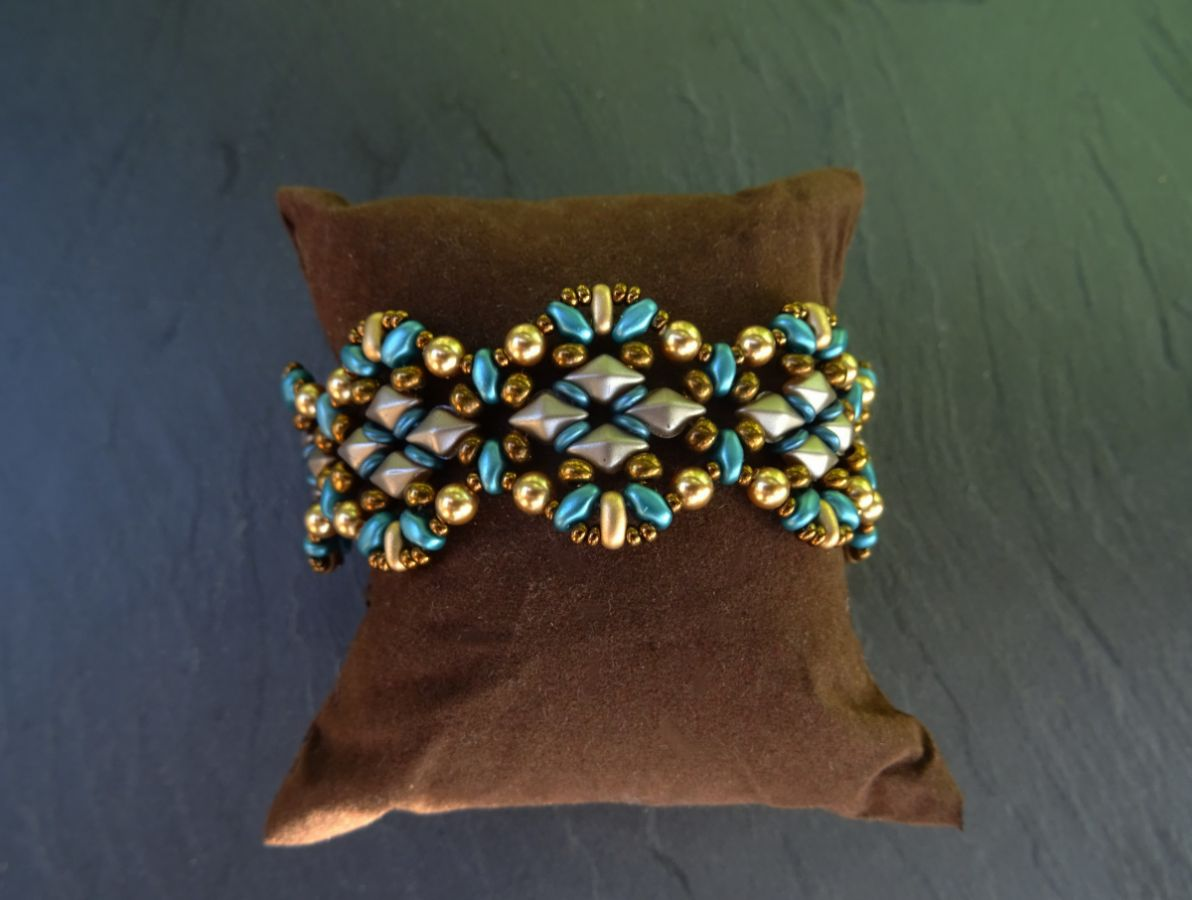 Bracelet Diamonduo Bleu en kit