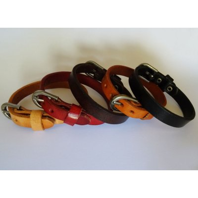Bracelet Homme en cuir à personnaliser couleur au choix