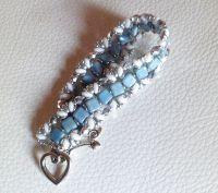 Bracelet Iceland bleu en kit
