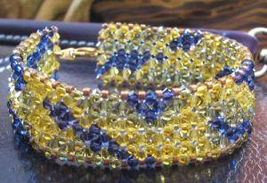 Bracelet en kit Bandeau Olivine