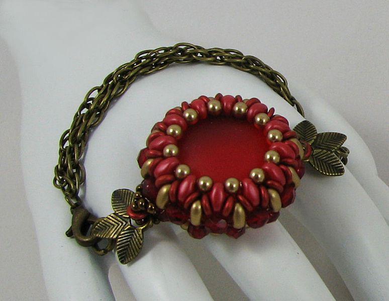 Bracelet en kit Queensland Rouge