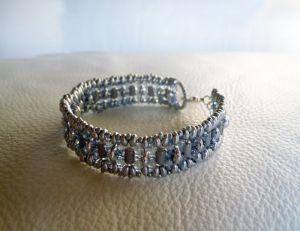 Bracelet en kit Starling argenté