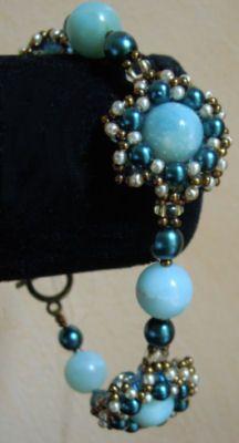 Bracelet en kit Twinétoile Amazonite
