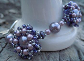 Bracelet en kit Twinétoile Violet