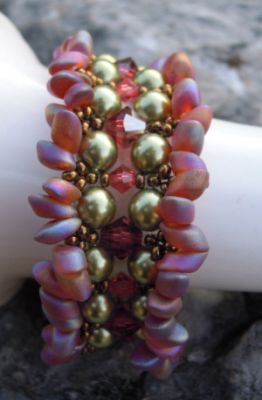 Tutoriel bracelet Mauritama Corail