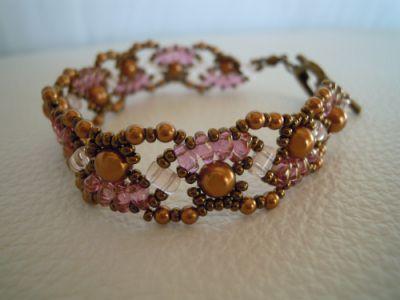 Bracelet Ondine cuivre en kit