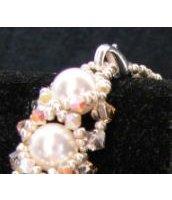 Bracelet Oriane Blanc grège en kit