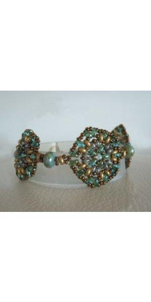 Bracelet Rondo Aqua Vert