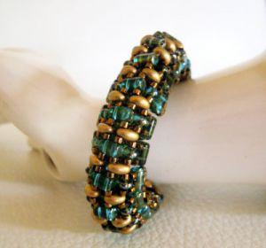 Bracelet Tendance 3D Aqua vert en kit