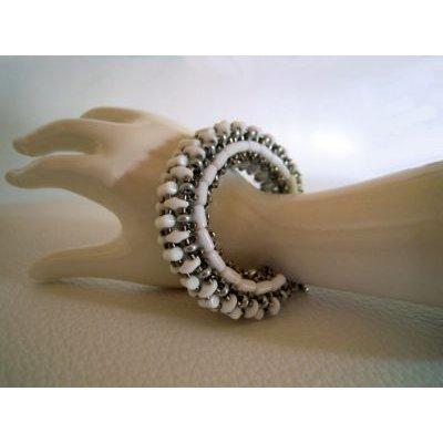 Bracelet Tendance 3D Blanc en kit
