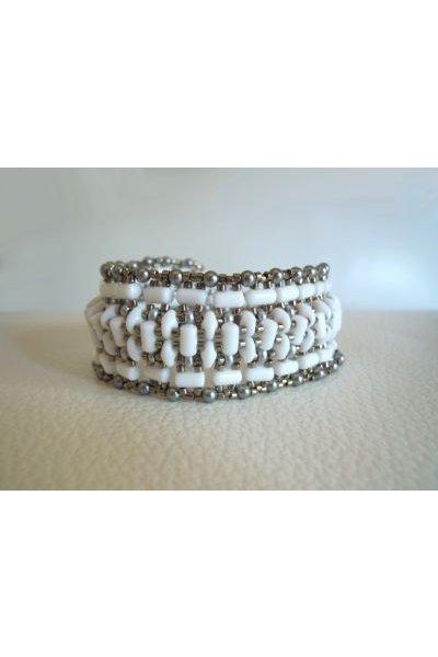Bracelet tendance Blanc en kit
