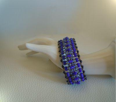 Tutoriel pour bracelet tendance Indigo