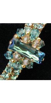 Bracelet triple Swarovski Erinite