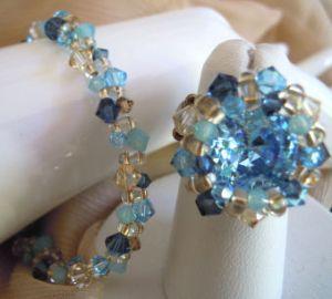 Bracelet Twinos Bleu en kit