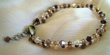 Bracelet Twinos Bronze shade en kit