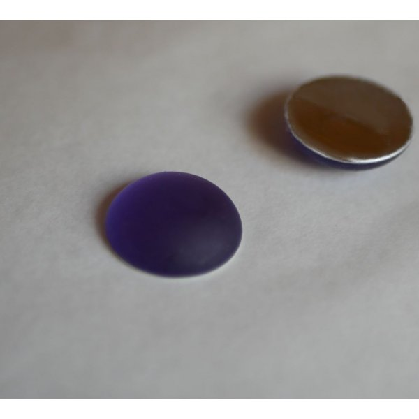 Cabochon Luna Soft violet tanzanite diamètre 18mm