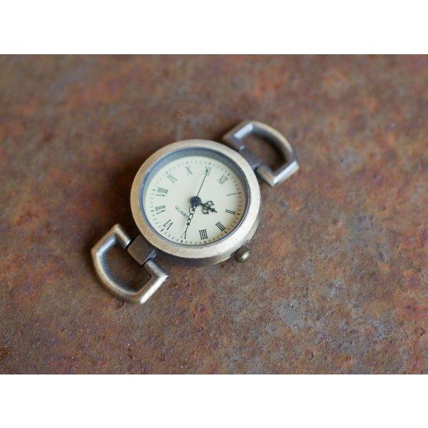 Cadran de montre bronze plat sans logo