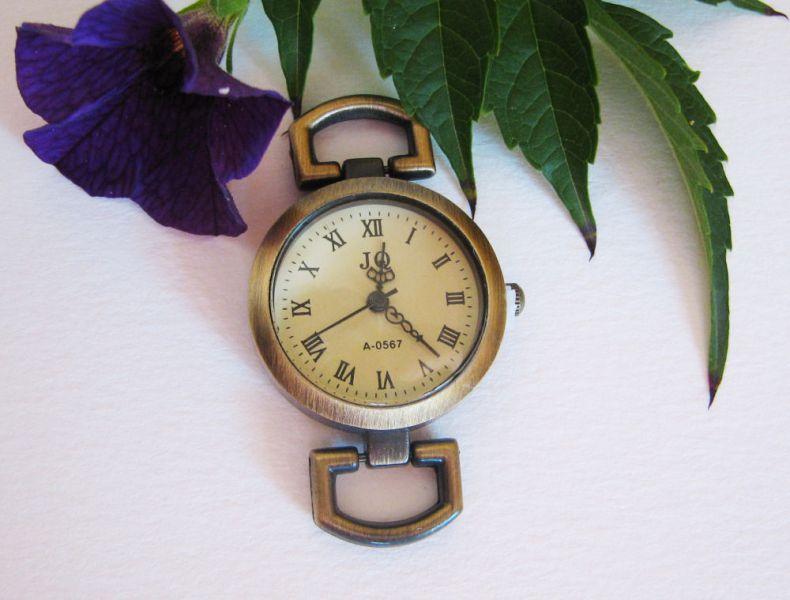 Cadran de montre bronze rétro