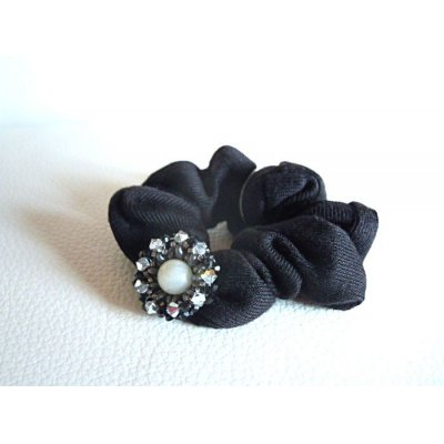 Chouchou noir Somerset gris