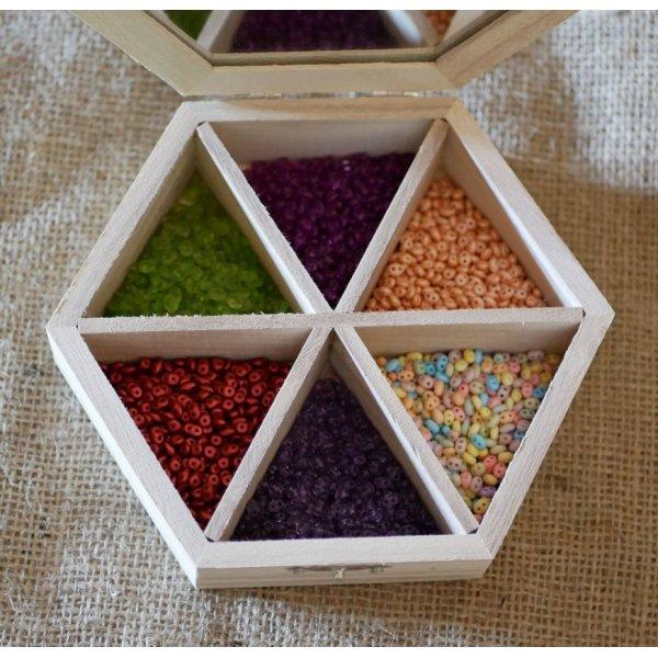 Coffret bois à personnaliser Superduos en 6 coloris