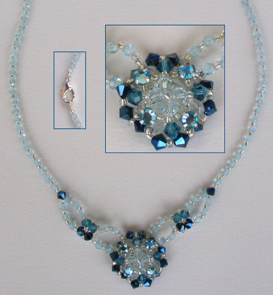 Collier Addison bleu