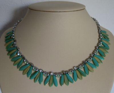 Collier Dagos Turquoise en kit