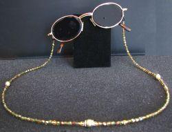 Cordon bijou Olivine pour lunettes; Cordon bijou Olivine pour lunettes