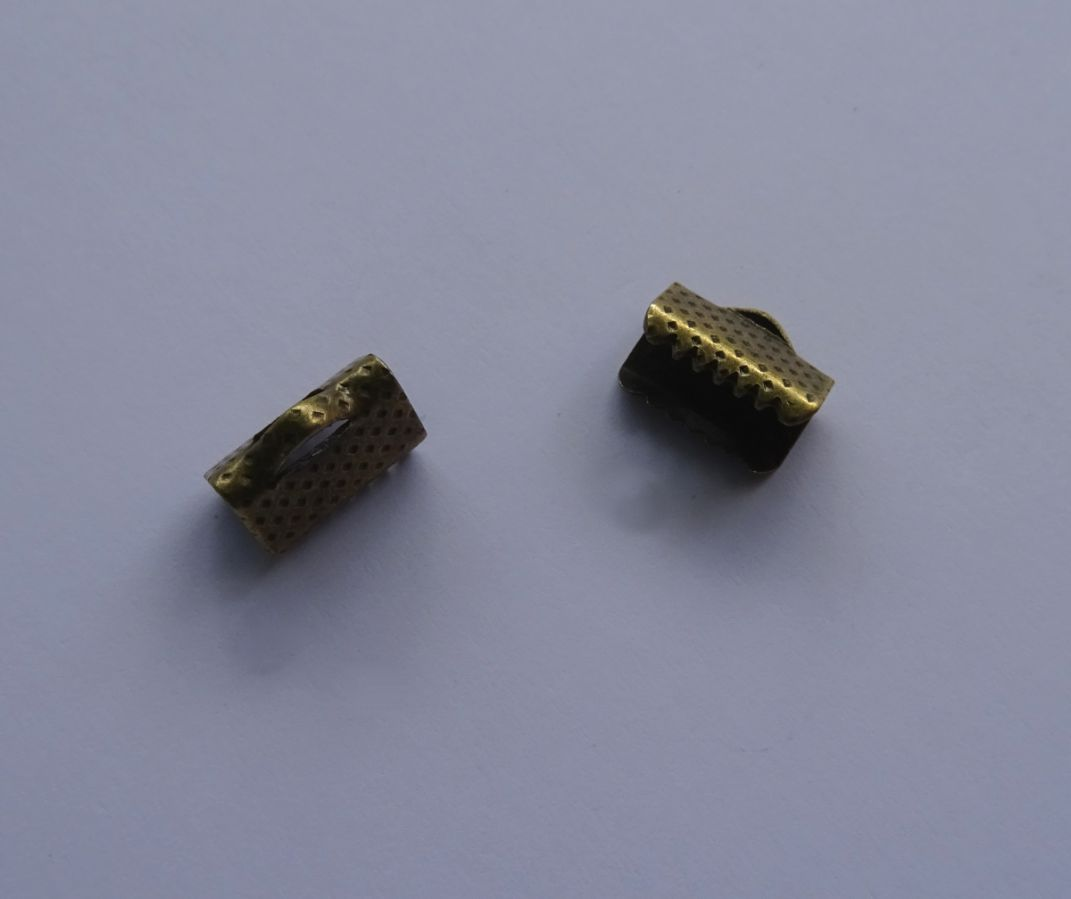 Embouts à serrer bronze 10 mm x 2