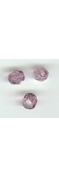 Facette 4mm medium amethyst x 20