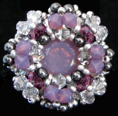 Kit bague Andros Cyclamen argent