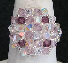 Kit bague Arz Crystal Amethyst