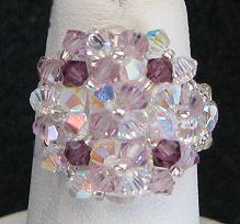 Kit bague Arz Crystal Amethyst
