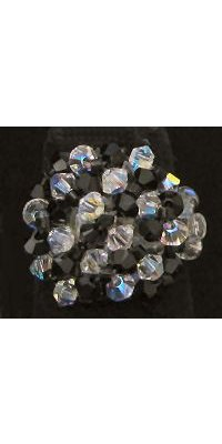 Kit bague Arz Noir Crystal
