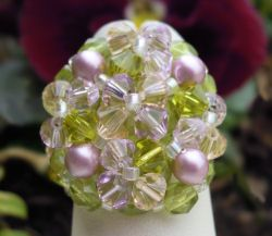 Kit bague  Bounty Rose Olivine