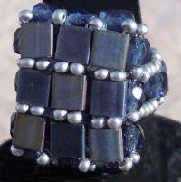 Kit bague carrée Tila Blue Jean's