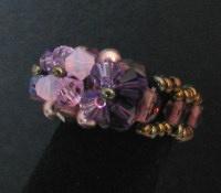 Kit bague Ceuta purple velvet