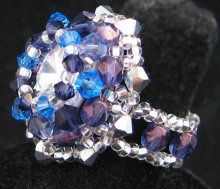 Kit bague Dome Sapphire